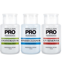 Kit UV remover, deshydrator, finish clearner