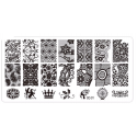 Plaque stamping dentelle 01