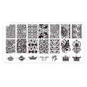 Plaque stamping dentelle 07