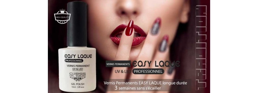 Vernis permanents UV-LED Axess